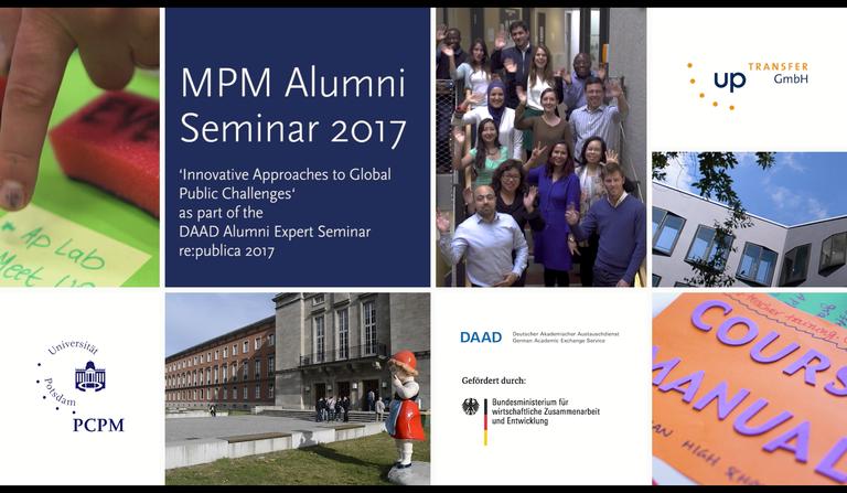 MPM Alumni Seminar 2017 - Video Impressions